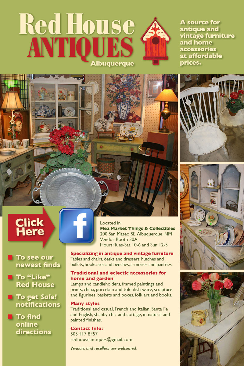 Red House Antiques & Vintage Furniture :: Albuquerque , NM. - Red House Antiques & Vintage Furniture :: Albuquerque , NM